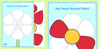 Uh My Chart This Lovely Reward Chart Features A Flower But Uh Oh Its