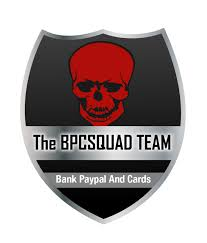 bpc squad bank paypal and cards