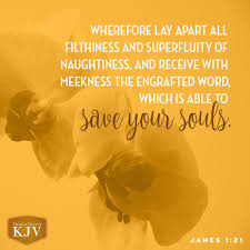 Kjv Verse Of The Day James 121 Verse Of The Day Bible Verses
