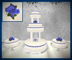 blue wedding cakes fountain. Perfect Blue BRIDE AND GROOM 5 TIER FOUNTAIN WEDDING CAKEBLUE ROSES Inside Blue Wedding Cakes Fountain T