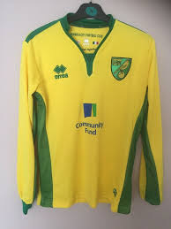 Errea Size Chart Norwich City Home Football Shirt 2016 2017 Errea Size Small
