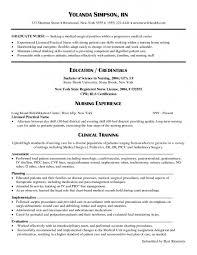 Lvn Resume Template Resume For Study