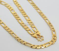 gold necklaces for men 2018 whole jewelry gold plated mens necklace 8mm 16inch from