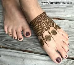 Foot Simple Mehndi Design 2018 Top 5 Easy And Quick Feet Henna Designs For Beginners