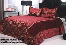 modern red duvet cover set modern dark red duvet covers style