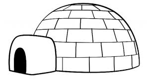Small Picture Download Coloring Pages Igloo Coloring Page Igloo Coloring Page