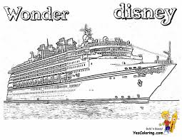 Disney Cruise Coloring Pages 15 Linearts For Free Coloring On