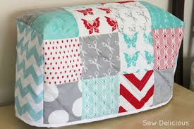 23 Charm Pack Quilt Patterns | FaveQuilts.com & Cozy Sewing Machine Cover Adamdwight.com