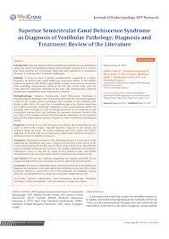round window reinforcement for superior semicircular c dehiscence a retrospective multi center case series request pdf