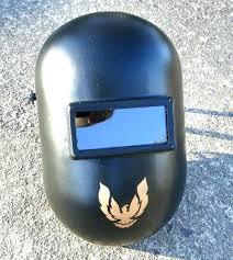 pipeliner welding hood fiber metal helmet motorcycle custom fibre smokey the bandit phoenix parts
