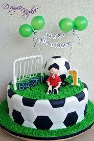 Fancy Soccer Ball Birthday Cake Ideas Electrohubclub