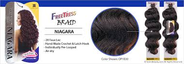 Freetress Color Chart Freetress Synthetic Hair Crochet Braids Niagara Samsbeauty