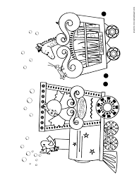 carnival coloring pages preschool 09