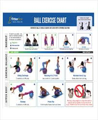 Free 6 Exercise Chart Examples Samples In Pdf Examples