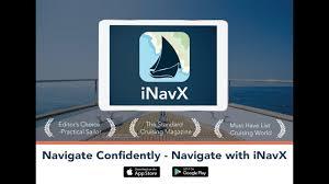 Inavx The 1 Handheld Chartplotter Navigate Confidently