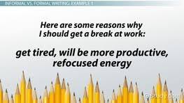 informal essay definition format examples video lesson  formal writing definition rules examples