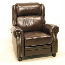 dark brown leather recliner chair. Bedrooms Black Leather Recliner Modern Chair . Inspiring Interior Design Ideas : How To Select The Right Dining Dark Brown
