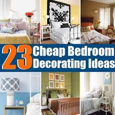Wonderful Bedroom Decorating Ideas For Easy Cheap Home Decor Ideas Amazing Ideas