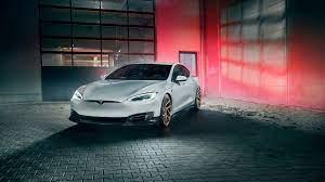 Tesla Model S, electric car, 4k ...