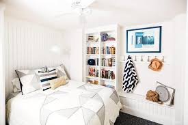 white furniture decor bedroom. Open Up A Small Bedroom By Painting Your Walls And Bookshelves White Decorating With Few Simple Pieces Of Decor. Furniture Decor E