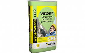 <b>Штукатурка цементная weber</b>.vetonit TT40, 25 кг купить в ...