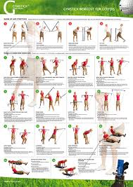 Easy Shaper Exercise Chart Vegetable Soup And Its Benefits Golf Workout Program Pdf