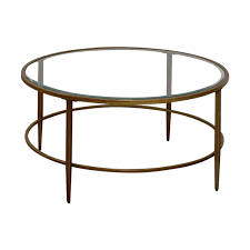 birch lane round glass coffee table birch lane tables