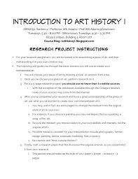 arh research project instructions introduction to art history i arh2050 section 1 • professor will adams • prof