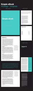 Ebook Template Ebook Template Indesign Graphics Designs Templates