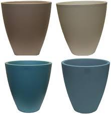 Light Blue Planter Details About Ex Large Tall Round Plant Flower Pots Planters