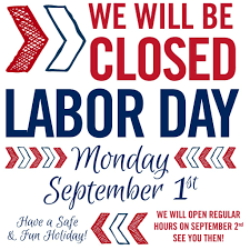 labor day closing sign template closed for labor day sign template template ideas