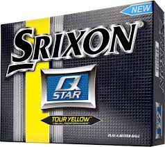 Srixon Q-STAR Tour Yellow Golf Balls - 12 Pack