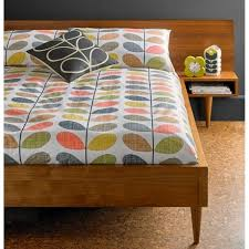 orla kiely house scribble multi stem duvet cover super king