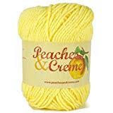 Peaches And Cream Yarn Color Chart Amazon Com Peaches Creme Cream Cotton Yarn Pastel Pink