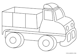 Printable drawings and coloring pages. Free Printable Truck Coloring Pages For Kids