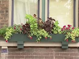 Diy Window Boxes Planting Window Boxes For Shade Diy