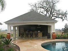 Garage and pool house plans Home design and style