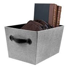 Decorative Cardboard Storage Boxes With Lids Grey Canvas Storage Cubes Decorative Box Shelves Crates For Sale 34