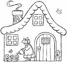 Раскраски детские дома