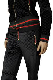 gucci joggers. womens designer clothes | gucci ladies zip up tracksuit #88 view 4 gucci joggers