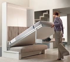 Super cool fold out space saving furniture