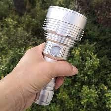 Cao Cấp Luminus SBT-90 SBT90.2 LED Đèn Pin Đèn Pin Dài Phạm Vi Chùm Tia One  Piece 26650 Pin Đèn Đèn Pha Tìm Kiếm Lồng Đèn - Gooum Lights & Lighting