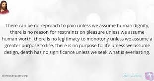 Christian Quotes On Purpose Best of Ravi Zacharias Quote About Pleasure Purpose Reason Lukewarm