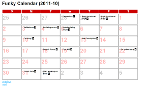 Calendar Templates Gorgeous Japhr By Chris Strom Underscorejs Templates In Backbonejs