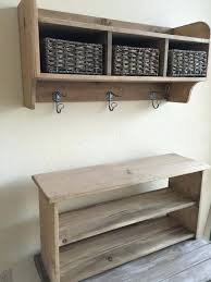 Wall Coat Rack With Storage Coat Rack Shelves Rustic Country Style Wood Wall Shelf 100 Drawer Coat 78
