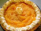 almond peachy pie