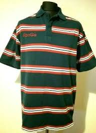 Kooga Mens Polo Rugby Shirt Top In Red Or Green Size S Xl
