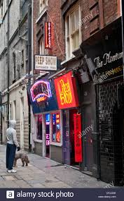 Red Light District Portland Seedy Red Light District In Soho London Wc2 Uk Stock