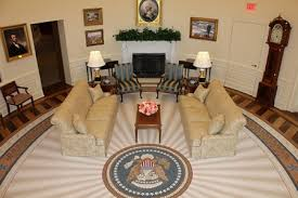 bush oval office. A Photo Of The Replica Oval Office In George W. Bush Presidential Center