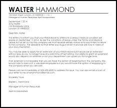 Fmla Termination Letter   Termination Letters   Livecareer
